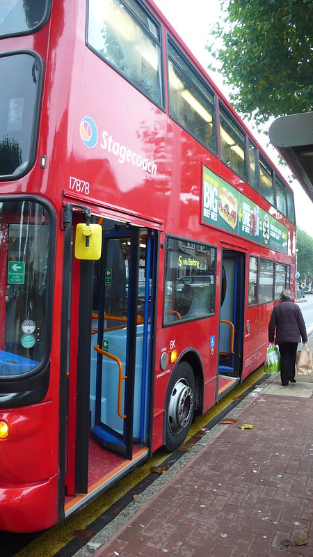 London Bus, Rush Green road