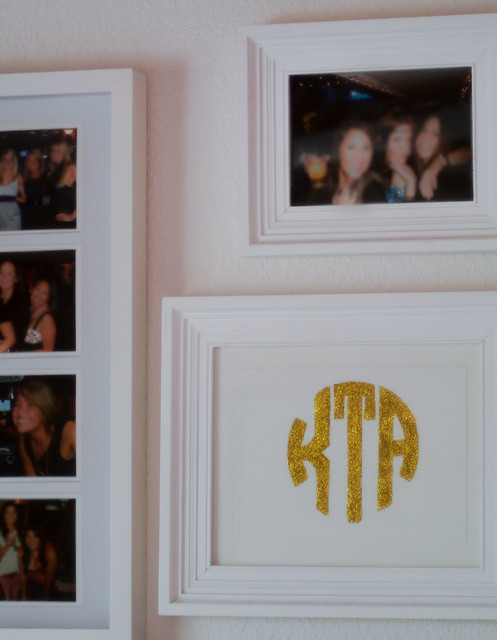 monogram & frame