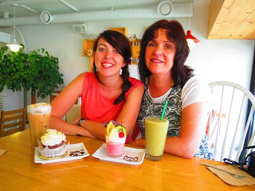 Mum and I
