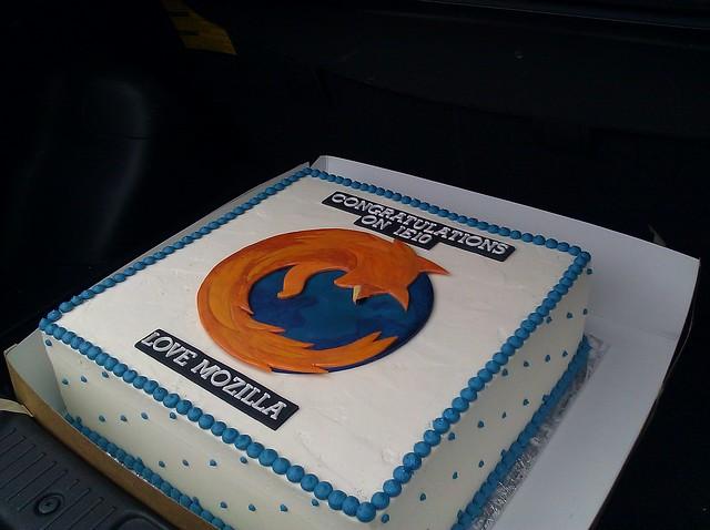 Mozilla IE10 cake