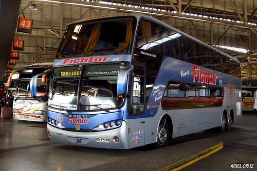 Fichtur Vip (Pullman Bus) | Terminal San Borja | Busscar Panorâmico DD / BDYH38
