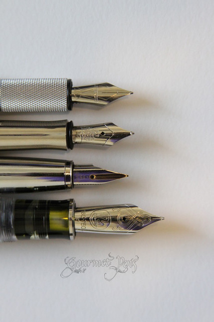 Levenger L-Tech Fountain Pen Nibs