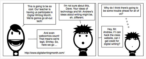 Digital Writing Comic1