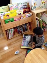 子育て支援センターにて (2012/10/27)