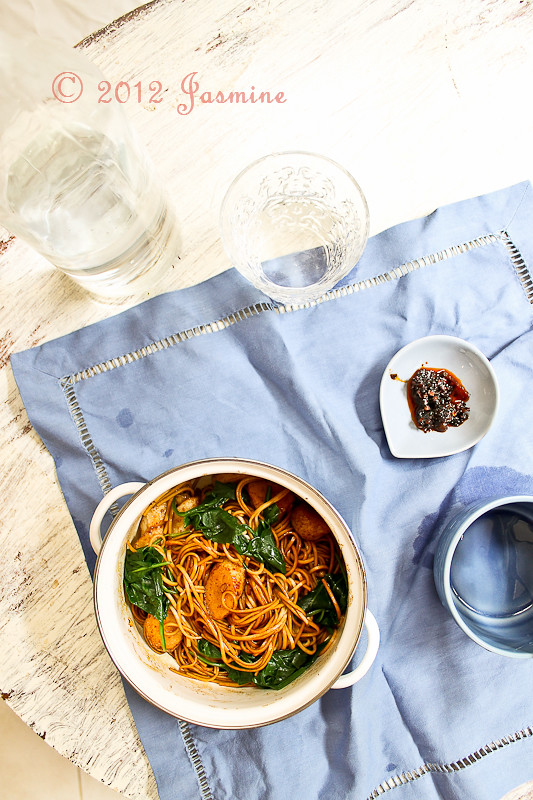 Healthy Soy Soba Noodles