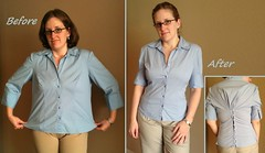 Buttoned Top Before & After