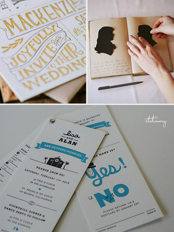 Lovestruck Wedding Awards | Stationery
