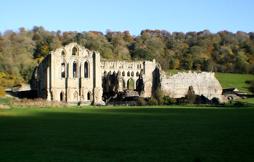 Landscape View of Rievaulx Abbey