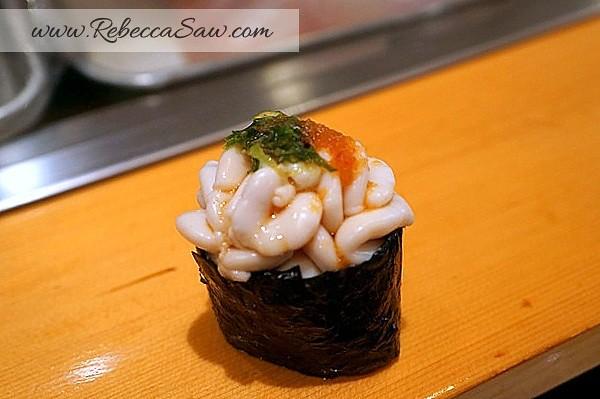 Tsukiji market - sushi dai - best sushi-056