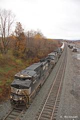 Westbound Truck Train
