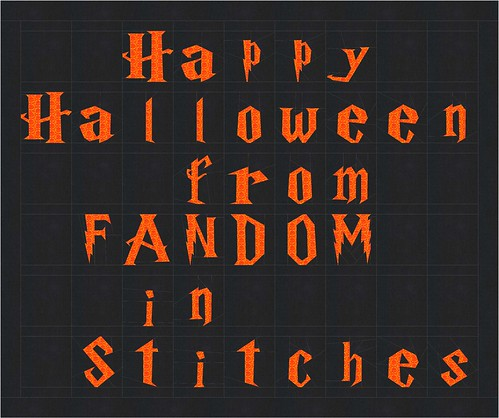 Happy Halloween from Fandom In Stitches