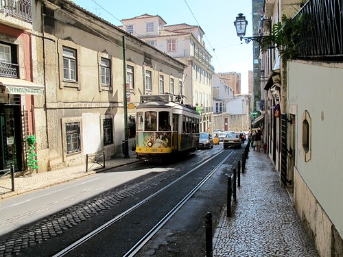 Snapshot of Lisbon (Portugal)