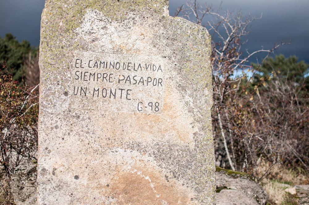 El arroyo del Sestil del Maillo en el Puerto de Canencia