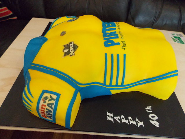 Parramatta Jersey By Cake Ideas And Designs