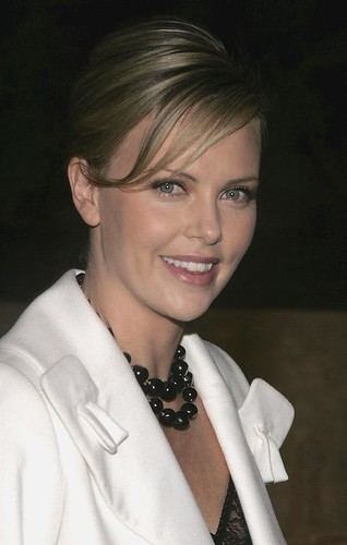 Charlize killer smile @ Christal Launch E Los Angeles CA USA 13 DEc 2005 Posted 31 OCT 2012