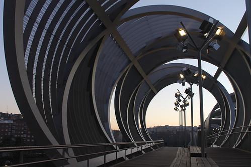 Puente del tubo.