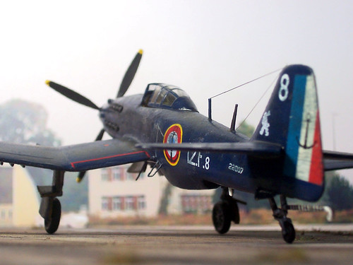 """1:72 Arsenal VB 31 """"Requin"""", '8 White', Flotille 12F, Aéronavale; Arromanches/Haiphong, October 1952 (Whif)"""