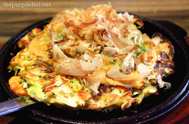 Hiroshima-Style Okonomiyaki P295