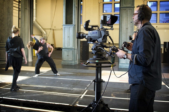 Royal Opera Live: A choreography rehearsal for Eugene Onegin with choreographer Signe Fabricius. © ROH / Sim Canetty-Clarke 2013