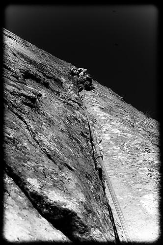 Fisura Chamonix. Pico de la Miel