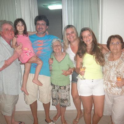Sr Agostinho e família