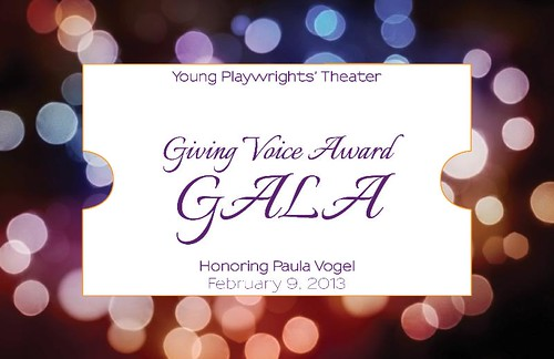 Young Playwrights Theatre Gala