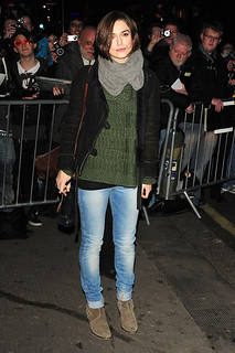 Keira Knightley Ankle Boots Celebrity Style Women's Fashion