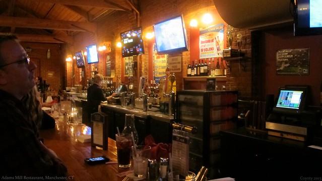 Adams Mill Restaurant bar