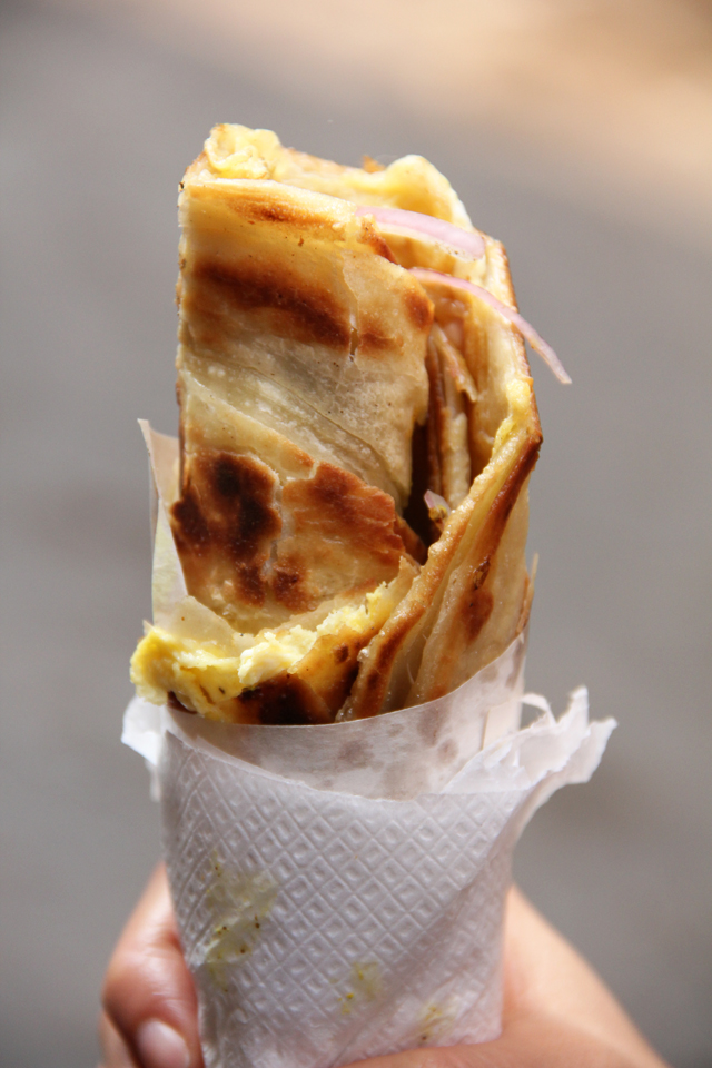 The famous Kolkata Kati Roll!
