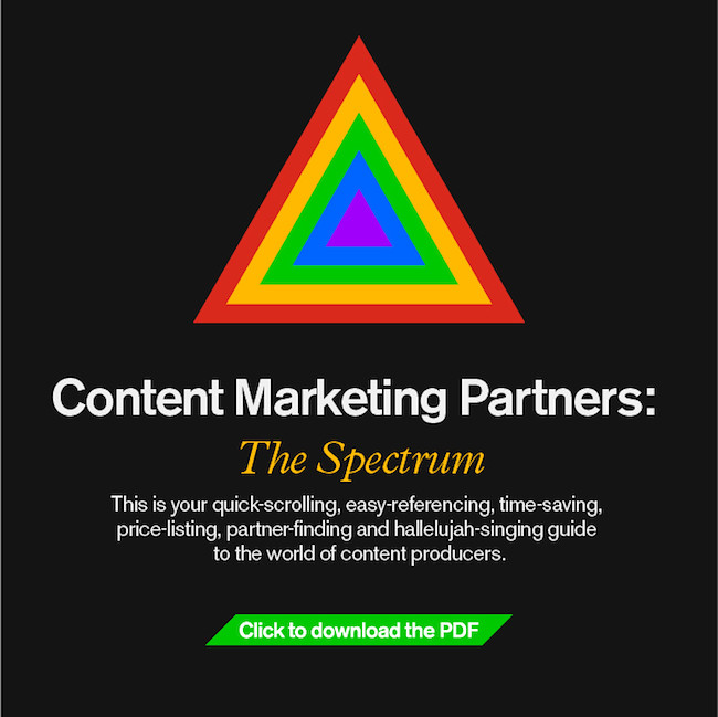 Content Marketing Spectrum