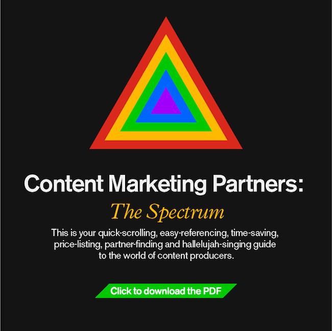 Content Marketing Spectrum