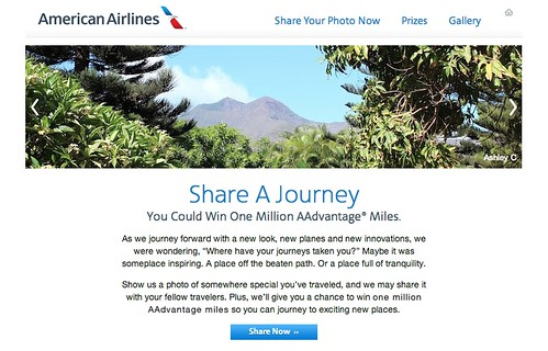 American Airlines sweepstakes
