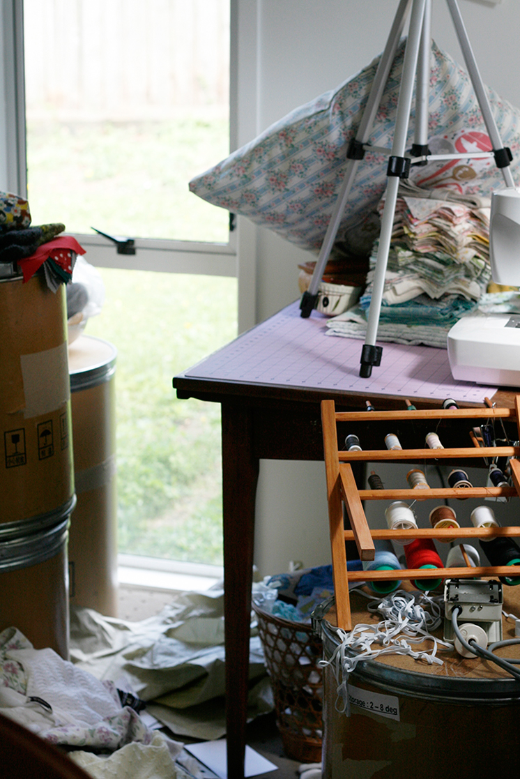 stills, bits + pieces, craft room, chaos, mess