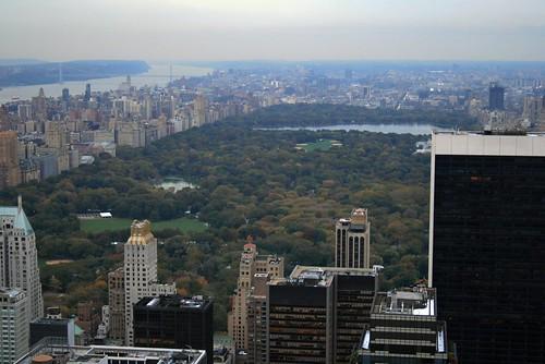 Vistas desde el Edificio Rockefeller (Nueva York)