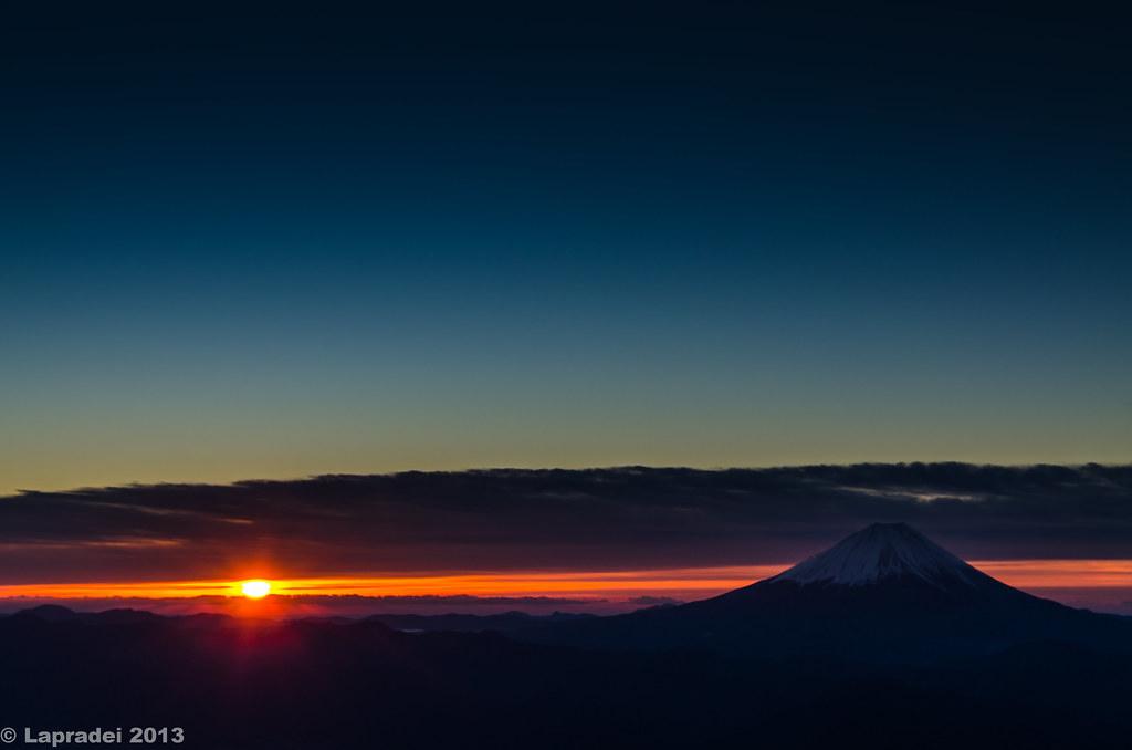 20130101 薬師岳からの御来光