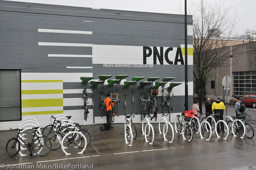 Pedal Garden dedication event at PNCA-18