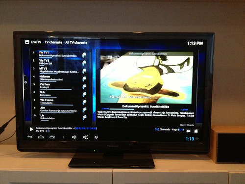 XBMC ja LiveTV