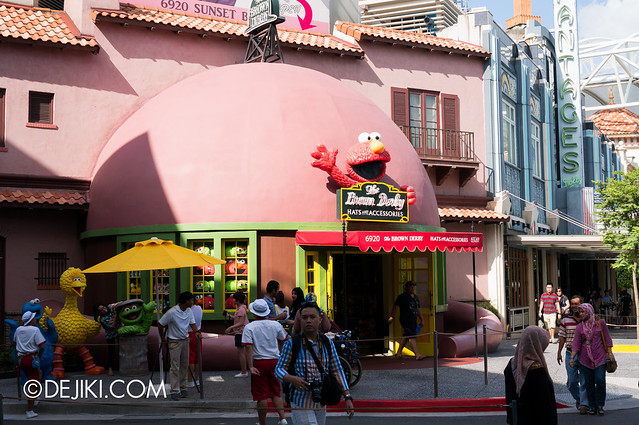 The Brown Derby - recoloured for Sesame Street