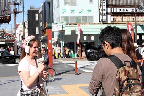 Singing in Asakusa