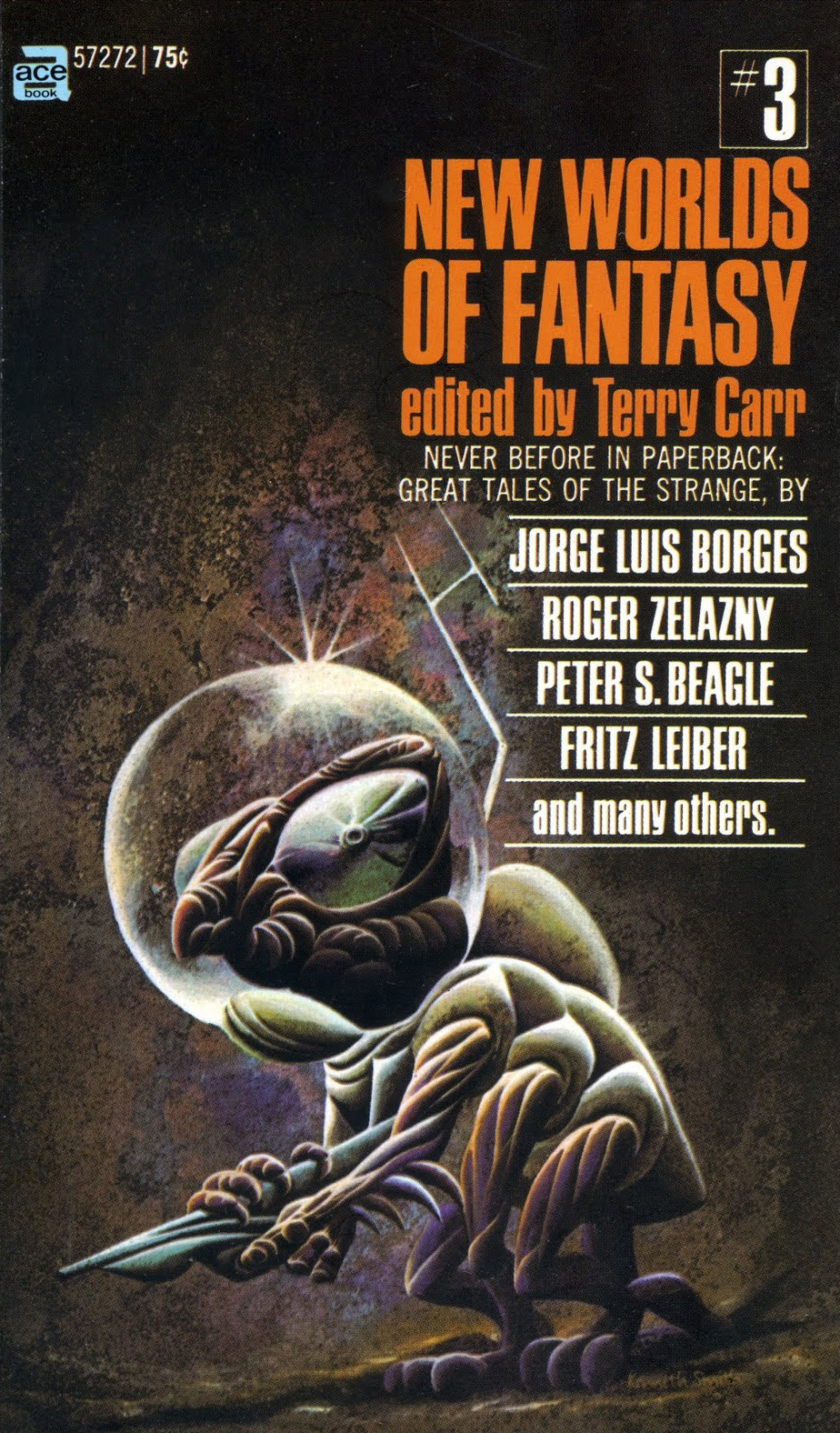 Kenneth Smith - New Worlds Of Fantasy Cover
