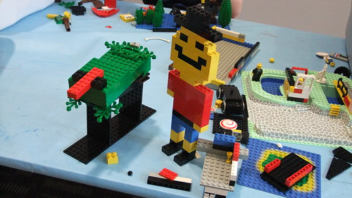 LEGO creations at ELPL