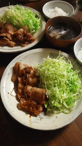 豚の生姜焼き by nekotano