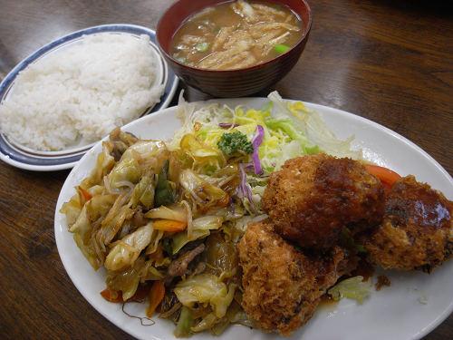 リーズナブルで美味しい洋食店『レストラン若竹』@斑鳩町