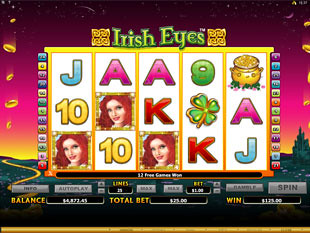 Irish Eyes Free Spins