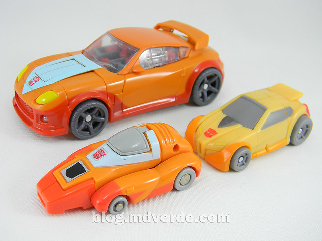 Transformers Wheelie Deluxe - Generations GDO - modo alterno vs G1 vs United