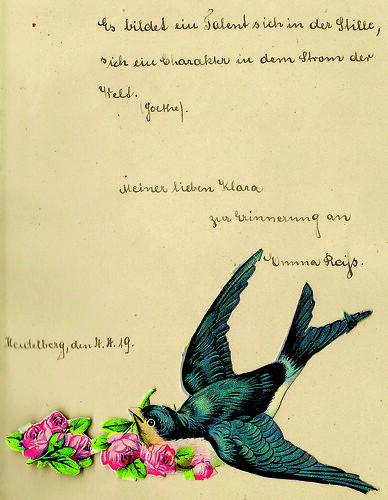 Klaras Poesiealbum 1919