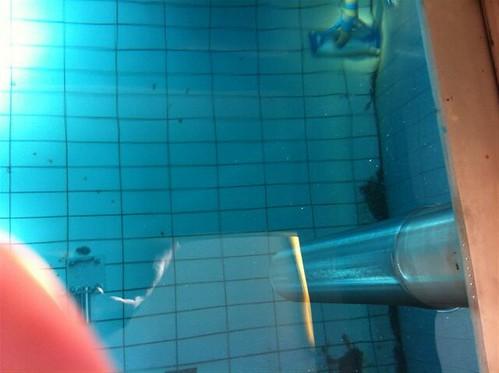 Onderwater slibzuigen