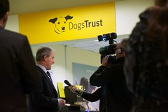 Environment Secretary Owen Paterson speaks at Dogs Trust