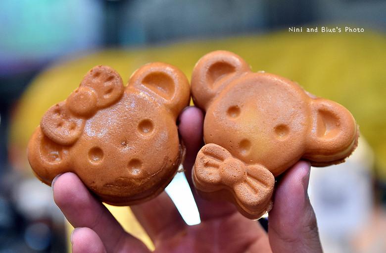 台中小熊燒紅豆餅漸層飲料11