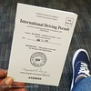 Look out world! I can drive anywhere the Geneva Convention is followed. :traffic_light::oncoming_automobile::checkered_flag: #12blaxx #internationaldrivingpermit